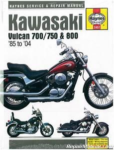 Haynes Kawasaki Vulcan 700 750 800 1985