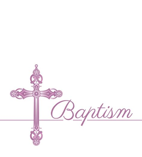 Download Hd Baptism Cards Png Baptism Invitation Template