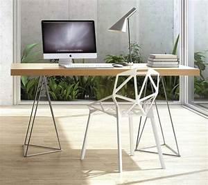 Tréteaux Pour Table : 41 id es d co de tr teaux pour cr er une table ou un bureau ~ Melissatoandfro.com Idées de Décoration