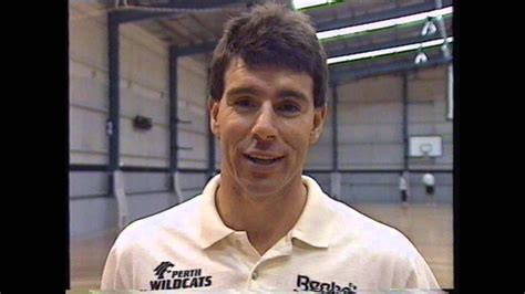 1994 Perth Wildcats - Mike Ellis how to make a half court ...