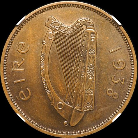 valuable coins from the grading room ireland 1938 penny ngc