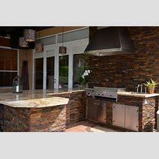 Outdoor Kitchen  Traditional  Patio  Miami  By Kabco