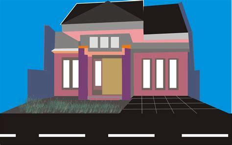 desain rumah minimalis corel draw desain rumah