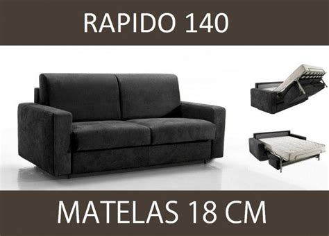 canape convertible microfibre 3 places canape lit 3 places master convertible ouverture rapido 140 cm microfibre matelas 18 cm