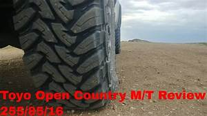 Toyo M  T Open Country Tire Review 255  85  16