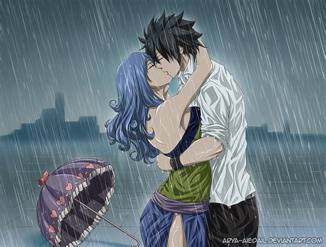 anime fairy tail juvia lockser gray fullbuster wallpaper