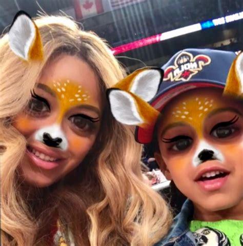 pic beyonces secret snapchat account confirmed