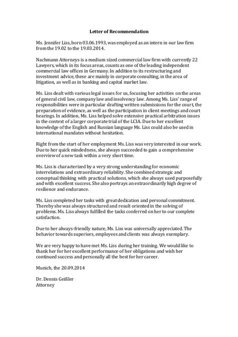 Letter What Is by Letter Of Recommendation Nachmann