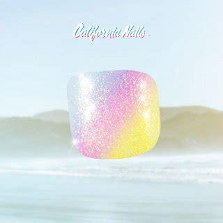 glitzer zum aufkleben toe nail tips in rainbow pastell glitzer effekt 8 99