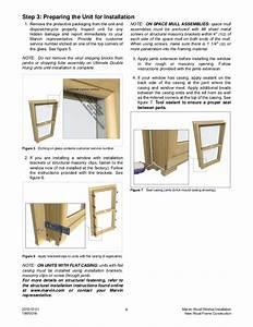 Marvin Wood Window Installation Instructions
