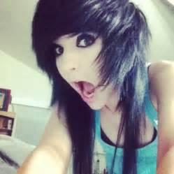 Emo Girl with Scene Hair