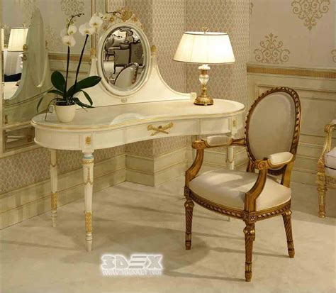 latest corner dressing table designs  small bedroom