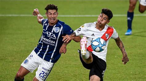 ONLINE River vs. Godoy Cruz por la Copa Diego Maradona ...