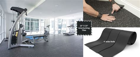 ECORE ATHLETIC RUBBER FLOORING   Bauer Sport Floors Inc.