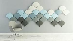 Isolation Sonore Mur : ginkgo une isolation acoustique tr s design ~ Premium-room.com Idées de Décoration