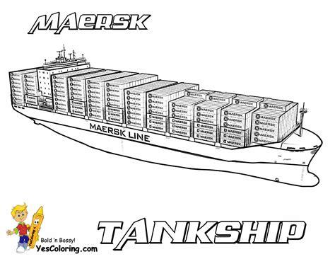 Mega Tanker Ship Printables