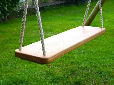 wooden swing seat wooden swing seat makemesomethingspecial 1178