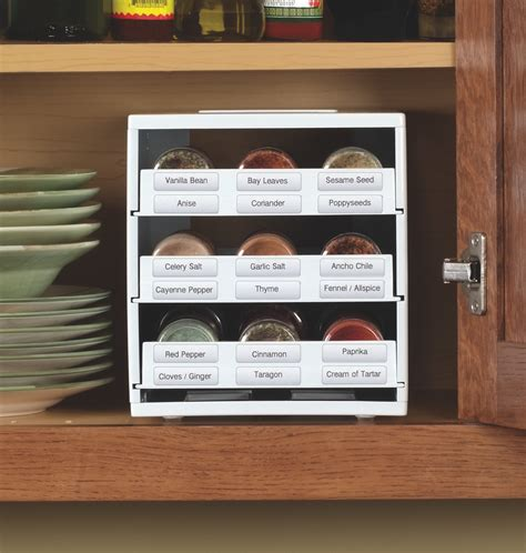 Cooks Spice Rack by New Spicestack Spice Rack Helps Not So Organized Cooks