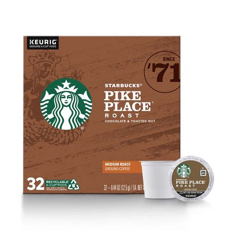 Almost all decaffeinated coffees still contain some caffeine. Starbucks Medium Roast K-Cup Coffee Pods — Pike Place ...