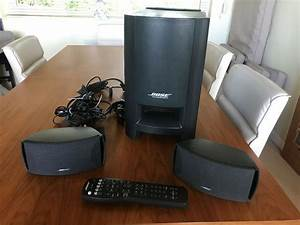 Bose Cinemate Digital Theatre Sound System With Speakers