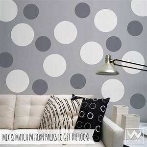 wall art decals for wall decoration vinyl wall stickers With best 20 large circle wall decals