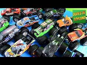 MONSTER JAM TOY REVIEW McDonald's Happy Meal Toys Fall ...