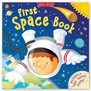 First Space Book  U2013 Kids Space Book  U2013 Miles Kelly