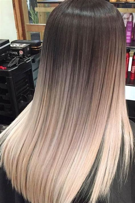 popular ideas  blonde ombre hair color