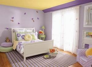paint ideas for girls bedroom 2014 purple and yellow are With room paint colors for girls