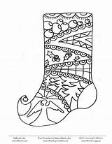 Coloring Stocking Panty Template Sheets Milliande Printable Adult Printables sketch template