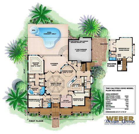 house layout plans florida style house plan 4 bedrms 3 5 baths 3020 sq