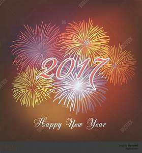 Happy New Year 2017 With Fireworks – Happy Holidays!