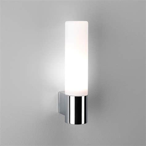 astro bari polished chrome bathroom wall light at uk