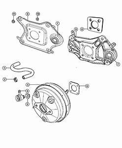2010 Jeep Liberty Hose  Brake Booster Vacuum   All Turbo