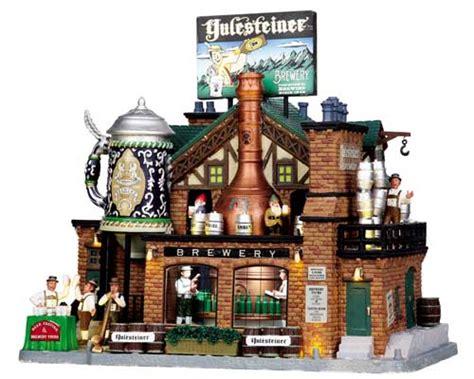 yulesteiner brewery  lemax village ehobbytools