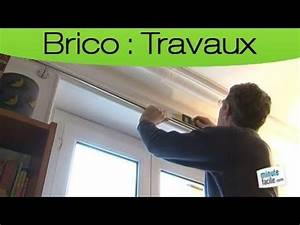 Poser Tringle Rideau : comment poser un rideau et une tringle youtube ~ Melissatoandfro.com Idées de Décoration