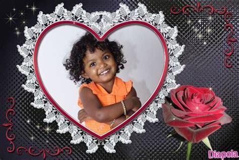 cadre photo montage en ligne gratuit montage photo cœur cadre avec diapola
