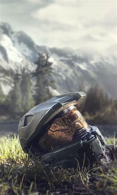Halo 4k Iphone Wallpapers Master Chief Helmet