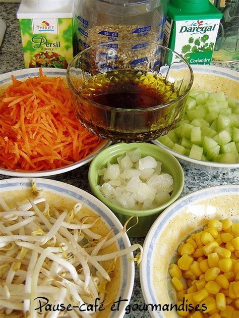 cuisiner un lapin salade de quinoa aux crudités pause gourmandises