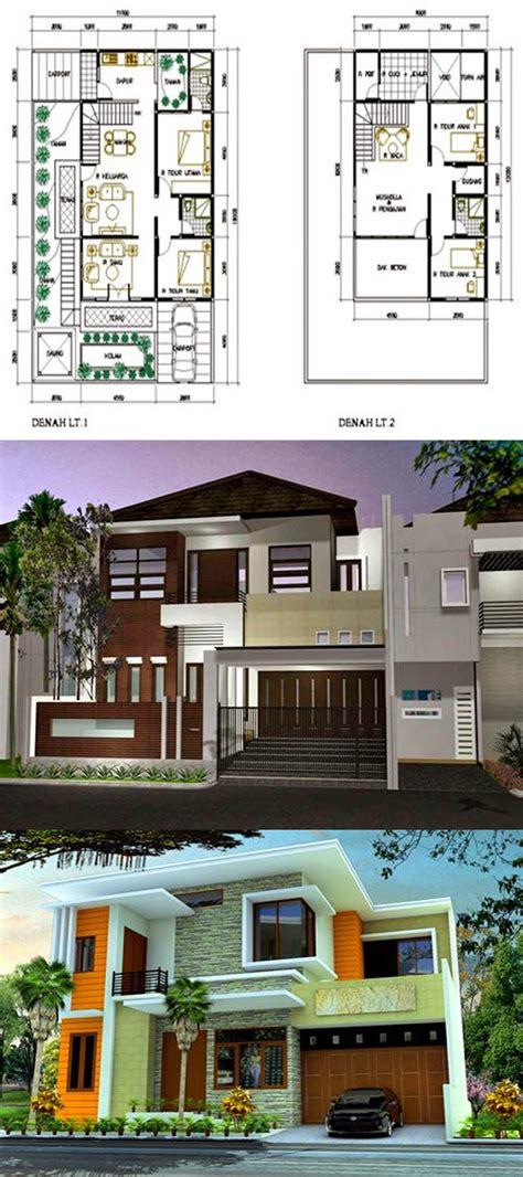 desain rumah minimalis  lantai type  desain rumah