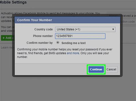 How to Add a Phone Number on Facebook (with Pictures ...