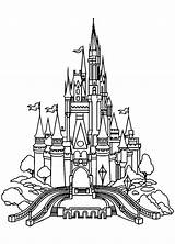 Castle Coloring Pages Adults Printable Getcolorings sketch template