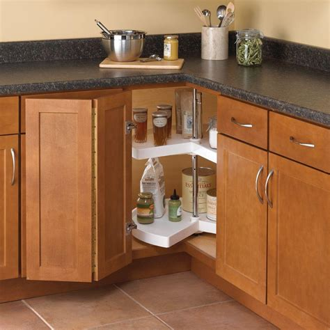 cabinets lazy susan assembly real solutions for real 32 in h x 24 in w x 24in d
