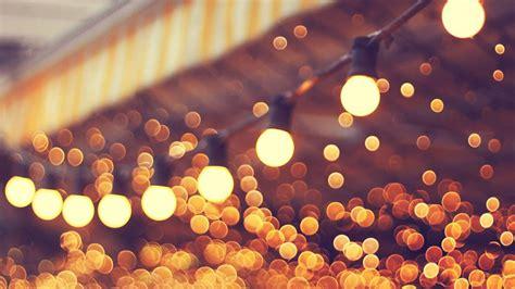 mj city light blue bulbs romantic street papersco