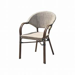 Fauteuil Jardin Aluminium : fauteuil de jardin en aluminium ushuaia lin leroy merlin ~ Teatrodelosmanantiales.com Idées de Décoration