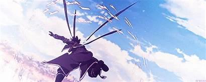 Sword Kirito Sao Swordsman Gifs Alo Giphy
