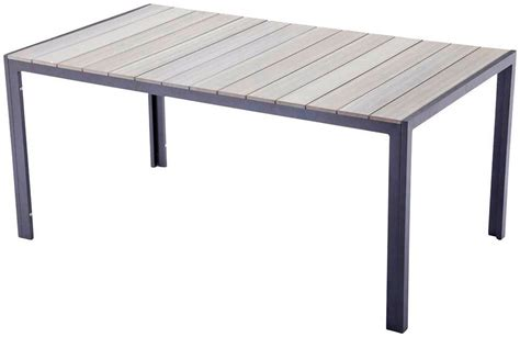 Gartentisch Non Wood by Garden Pleasure Gartentisch 187 171 Non Wood 150x90 Cm