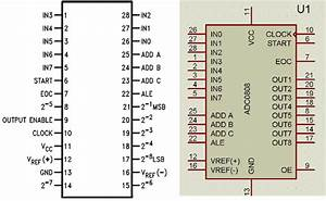8051 Programming  Interfacing Adc0808 With 8051 Microcontroller