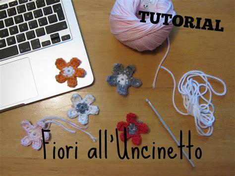 fiori a uncinetto tutorial tutorial alluncinetto fiori