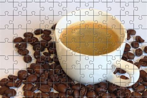 Scarf, coffee, tulip, book, colourfull flowers, cup. Coffee - Free Jigsaw Puzzles Online